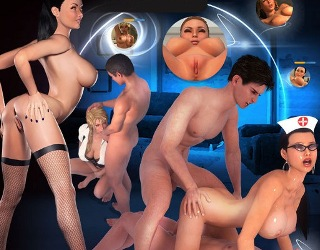 AdultWorld 3D porn game